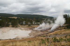 Montana Mud Geyser Yellowstone
