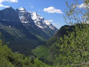 Going To The Sun U Valley Glacier National Park MT