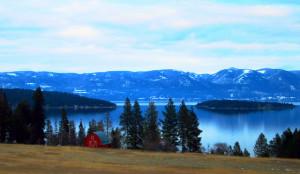 Lake Flathead Montana