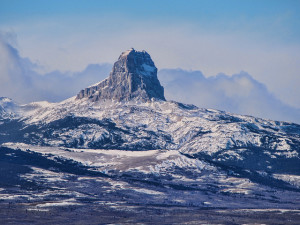 Old Chief Mountain MT