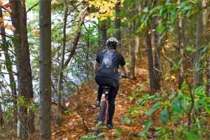 trail biking