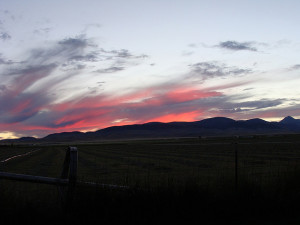 Montana Sunset View