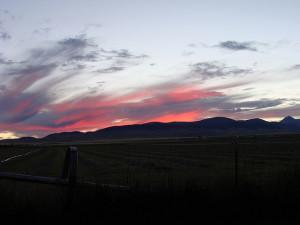 Montana Sunset View