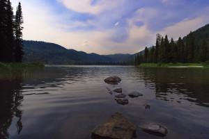 Upper Whitefish Lake Montana
