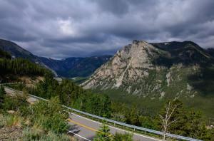 Montana Bear Tooth Pass Mountain